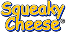 Squeaky Cheese Logo